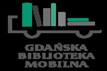 logo Gdańska Bibioteka Mobilna