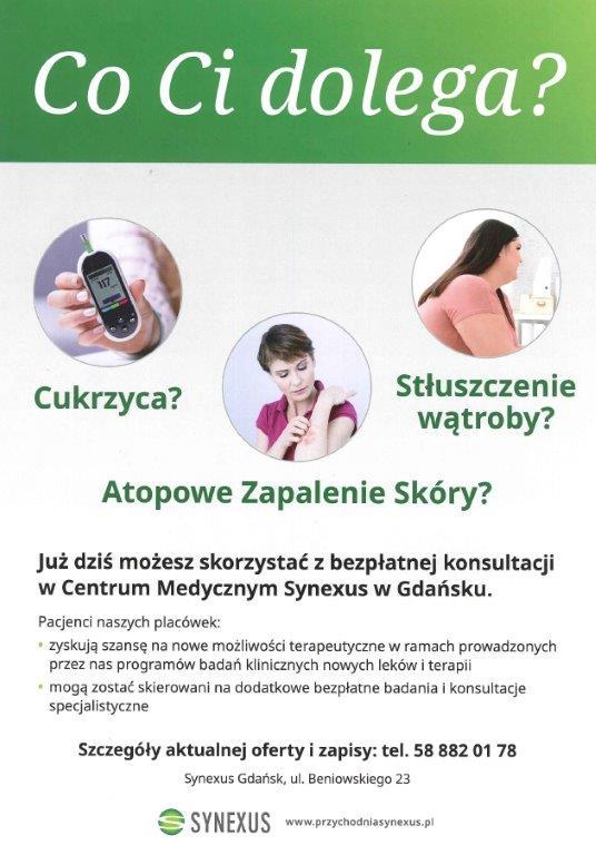 Bezpłatne badania medyczne w Gdańskim Urzędzie Pracy