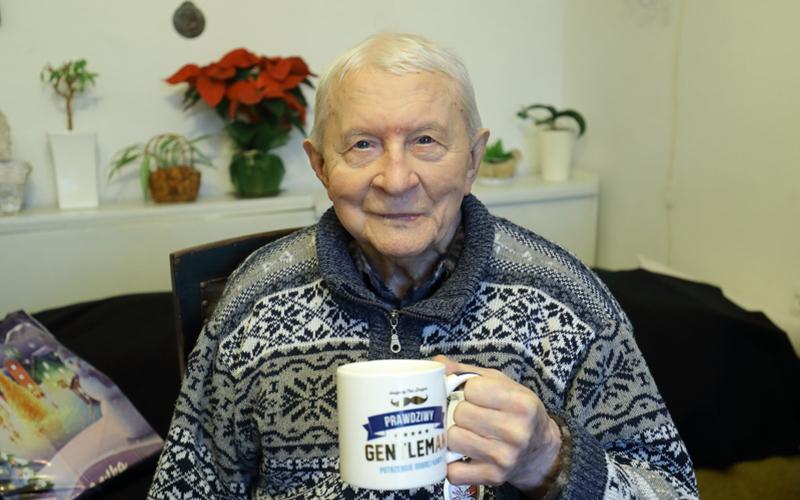 Adam Serafi z Gdańska skończył 104 lata!